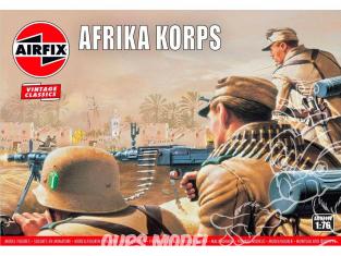 Airfix maquette militaire A00711V Vintage Classics Afrika Corps de la seconde guerre mondiale 1/76