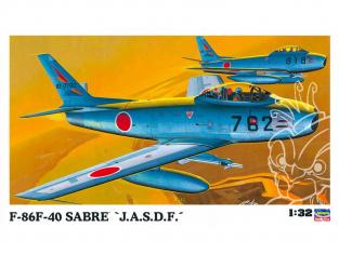 """Hasegawa maquette avion 08860 F-86F-40 Sabre """"J.A.S.D.F."""" 1/32"""