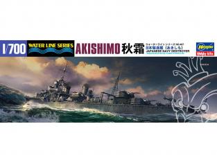 Hasegawa maquette bateau 467 Destroyer Akishimo 1/700
