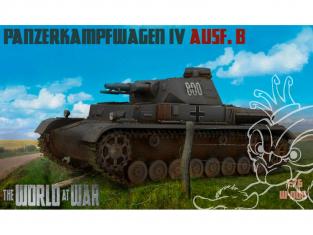 IBG maquette militaire w-008 The World of War Panzerkampfwagen IV Ausf.B 1/72