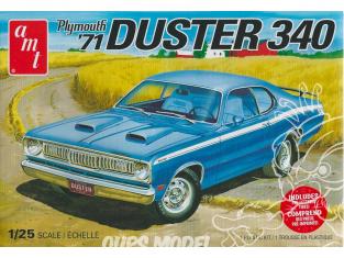 AMT maquette voiture 1118 Plymouth Duster 340 de 1971 1/25