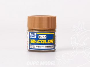 peinture maquette Mr Color C527 Khaki Mat 75% 10ml