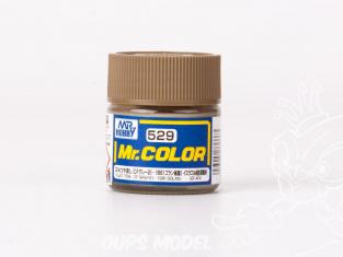 peinture maquette Mr Color C529 Gris 2 IDF (-1981 Golan) Mat 75% 10ml