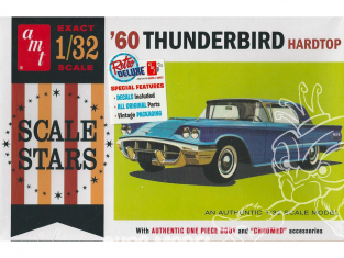 AMT maquette voiture 1135 1960 Ford Thunderbird 1/32