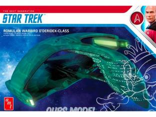 Amt maquette film 1125 Star Trek Romulan Warbird D Deridex-Class 1/3200