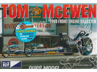 MPC maquette voiture 900 Dragster Tom McEwen de 1969 1/25