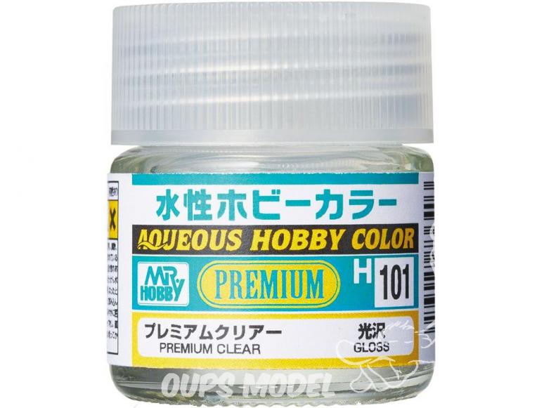 peinture maquette Mr Hobby H101 Vernis brillant Premium 10ml