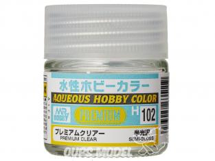 peinture maquette Mr Hobby H102 Vernis satiné Premium 10ml