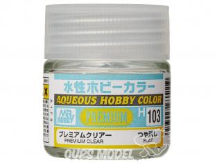 peinture maquette Mr Hobby H103 Vernis mat Premium 10ml