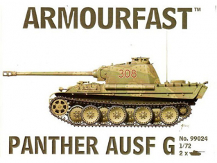 Armourfast maquette militaire 99024 PANTHER AUSF G 1/72