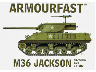 ARMOURFAST maquette militaire 99025 M36 JACKSON 1/72