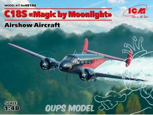 """Icm maquette avion 48186 C18S """"Magic by Moonlight"""" spectacle aérien américain 1/48"""