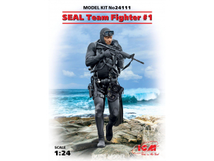 Icm maquette figurine 24111 SEAL Team Fighter №1 1/24