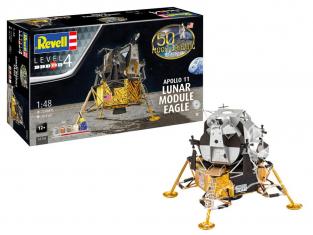 Revell maquette espace 03701 Apollo 11 Lunar Module Eagle 1/48