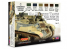 Lifecolor set de peintures cs44 Couleurs acryliques Lifecolor pour les chars britanniques de la seconde guerre mondiale