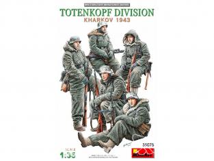 Mini Art maquette militaire 35075 TOTENKOPF DIVISION ( KHARKOV 1943 ) 1/35