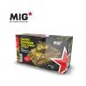 MIG Productions by AK MP35-373 Set conversion Pacifique pour Sherman 1/35