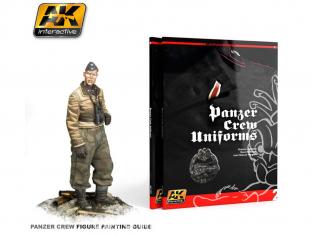 Ak Interactive livre AK272 Uniformes Equipages Panzer - Panzer crew uniforms en Anglais