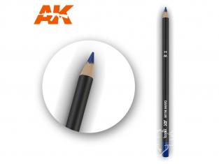 Ak interactive AK10022 Crayon acrylique de vieillissement Bleu foncé