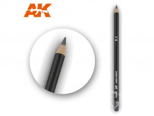 Ak interactive AK10024 Crayon acrylique de vieillissement Gris foncé