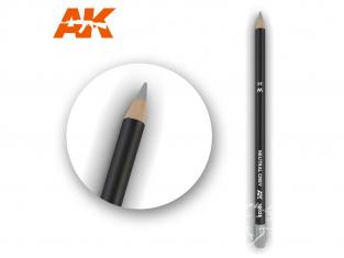 Ak interactive AK10025 Crayon acrylique de vieillissement Gris neutre
