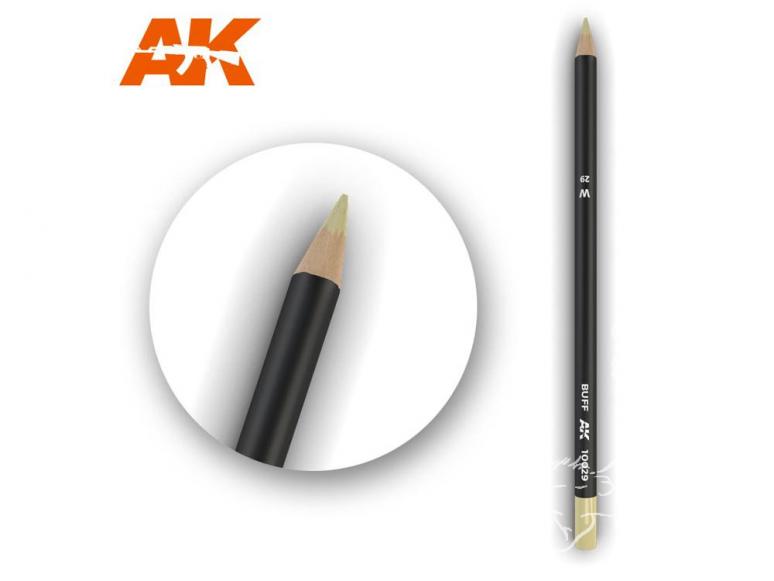 Ak interactive AK10029 Crayon acrylique de vieillissement Chamois