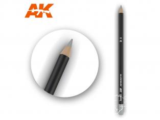 Ak interactive AK10033 Crayon acrylique de vieillissement Aluminium