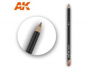 Ak interactive AK10037 Crayon acrylique de vieillissement Cuivre