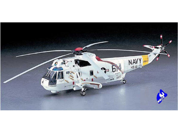 HASEGAWA maquette helico 07201 SH-3H SEAKING (PT 1) 1/48