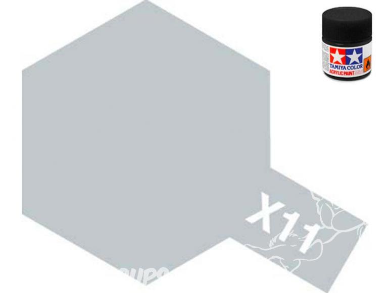 peinture maquette tamiya x11 chrome brillant