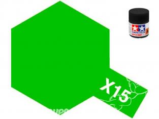 peinture maquette tamiya x15 vert clair brillant