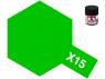 peinture maquette tamiya x15 vert clair brillant 10ml
