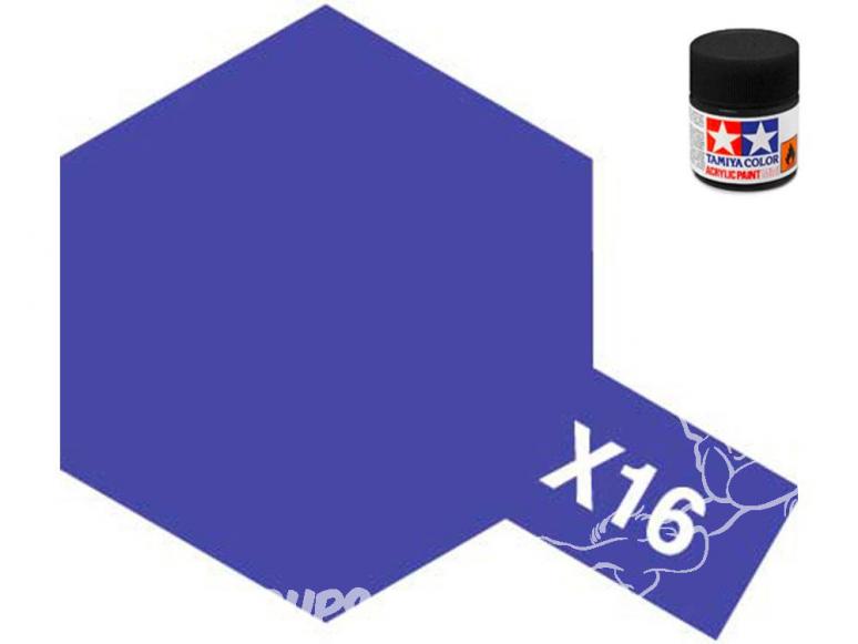 peinture maquette tamiya x16 purple brillant