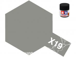 peinture maquette tamiya x19 XL smoke brillant 23ml