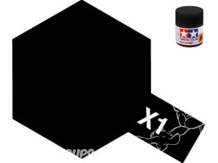 Peinture maquette tamiya x01 XL noir brillant 23ml