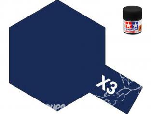 peinture maquette tamiya x03 XL bleu royal brillant 23ml