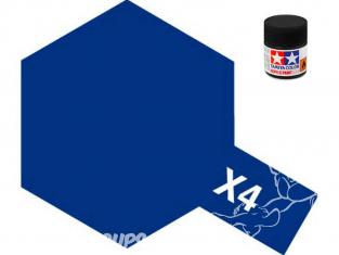peinture maquette tamiya x04 XL bleu brillant 23ml