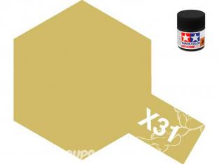peinture maquette tamiya x31 XL or titanium 23ml