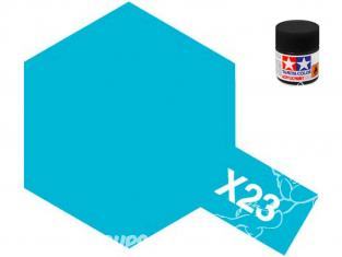 peinture maquette tamiya x23 XL bleu clear 23ml
