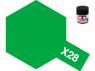 peinture maquette tamiya x28 vert herbe brillant 10ml
