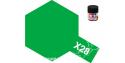 peinture maquette tamiya x28 XL vert herbe brillant 23ml