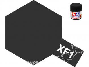 Peinture maquette tamiya xf01 XL Noir mat 23ml