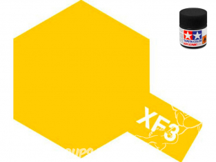 peinture maquette tamiya xf03 XL jaune mat 23ml