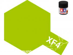 peinture maquette tamiya xf04 XL jaune vert mat 23ml