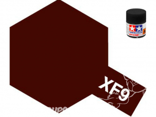 peinture maquette tamiya xf09 XL rouge coque mat 23ml