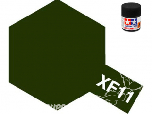 peinture maquette tamiya xf11 XL j,n vert mat 23ml