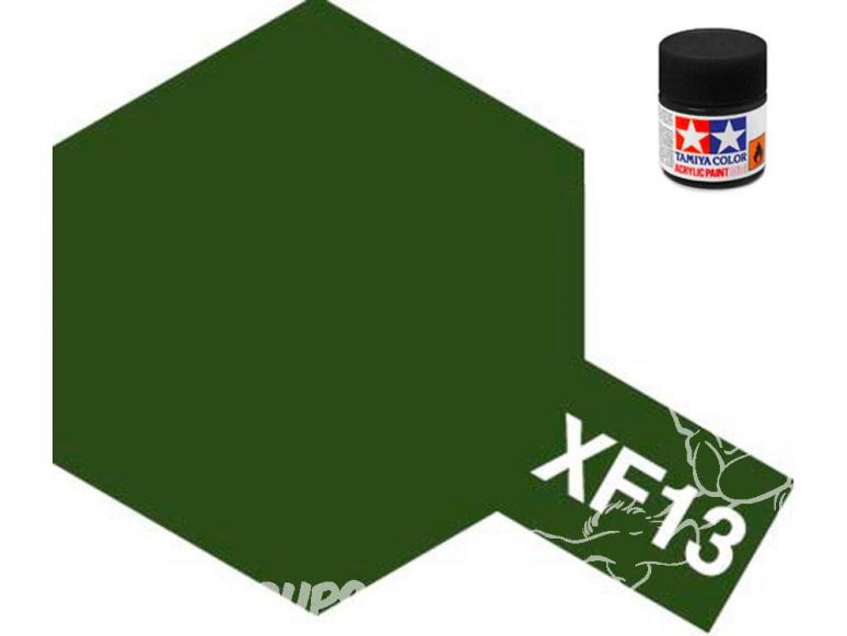 peinture maquette tamiya xf13 j.a vert mat