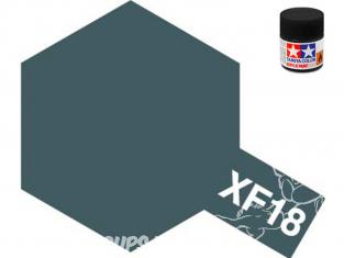 peinture maquette tamiya xf18 XL bleu moyen mat 23ml