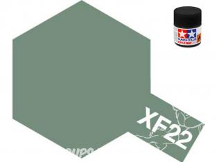 peinture maquette tamiya xf22 XL rlm gris mat 23ml