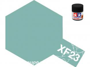 peinture maquette tamiya xf23 XL bleu ciel mat 23ml